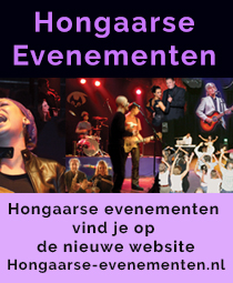 Hongaarse evenementensite van Uitgeverij Hongarije Magazine